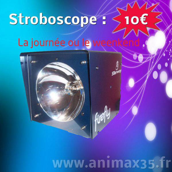 Location éclairage Nantes - stroboscope - Bretagne