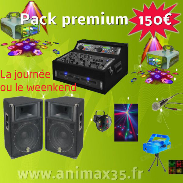 Location sono | Pack Premium 150 euros | location de sono
