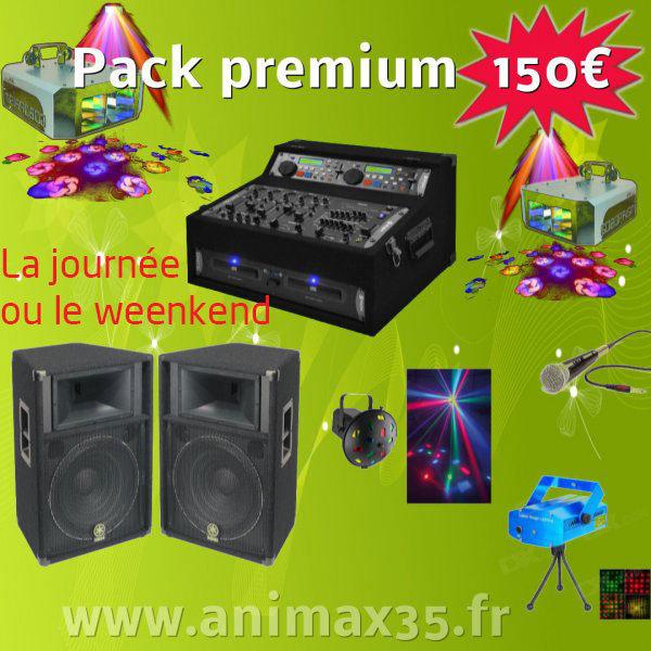 Location sono nantes - Pack Premium 150 euros
