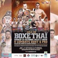 Soirée de boxe Thai samedi 24 octobre 2015 À 19H30