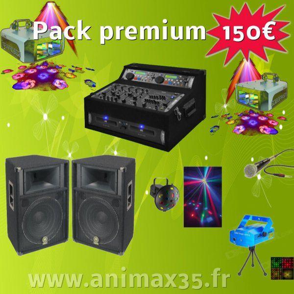 Location sono Pack Premium 150 euros - Bain de Bretagne