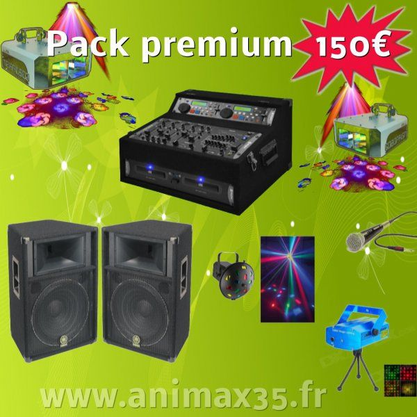 Location sono Pack Premium 150 euros - Saint Malo de Phily