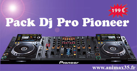 Location sono pack Dj Pro Pionneer - Moulins