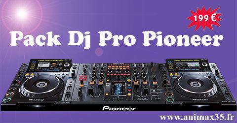 Location sono pack Dj Pro Pionneer - Bruc sur Aff