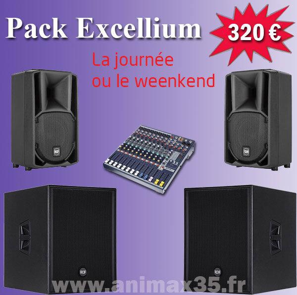 Location sono nantes - pack excellium 320 euros