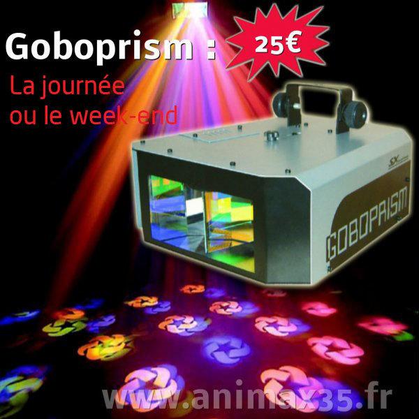 Location éclairage Goboprisme Rennes Bretagne
