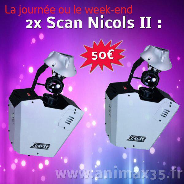 Location éclairage - Scan nicols 2 - Rennes - Bretagne