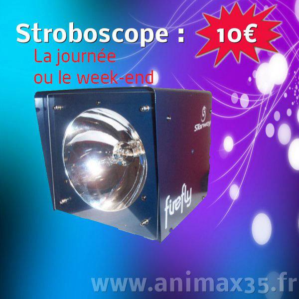 Location éclairage - stroboscope - Rennes - Bretagne