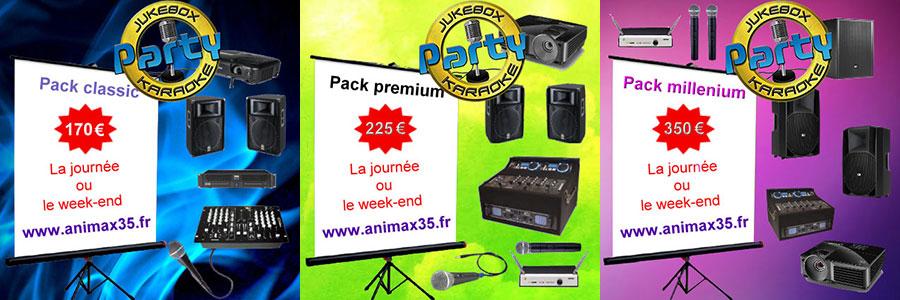 Karaoké pack rennes | Animax35