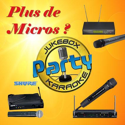 Location karaoké Mernel - Pack micros - Animax35