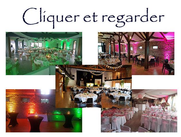 Location décoration lumineuse - diaporama - Rennes - Bretagne