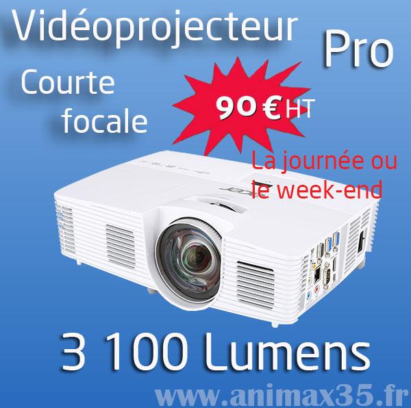 Vidéoprojecteur rennes - Pack Millenium pro - Animax 35