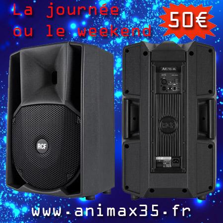 location enceinte rennes - Animax35